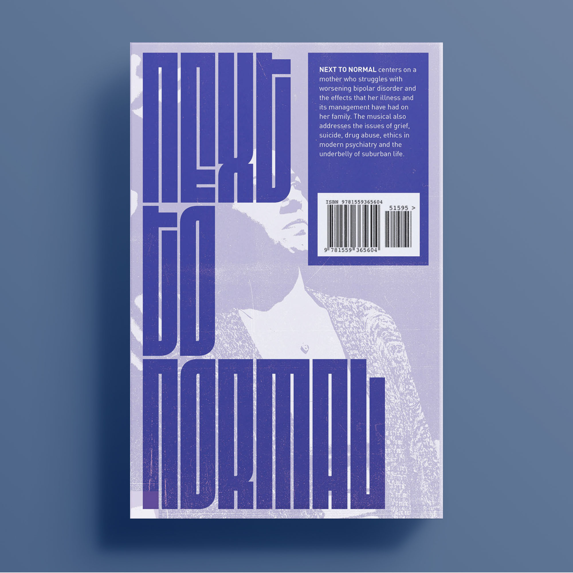 Next to Normal, back cover