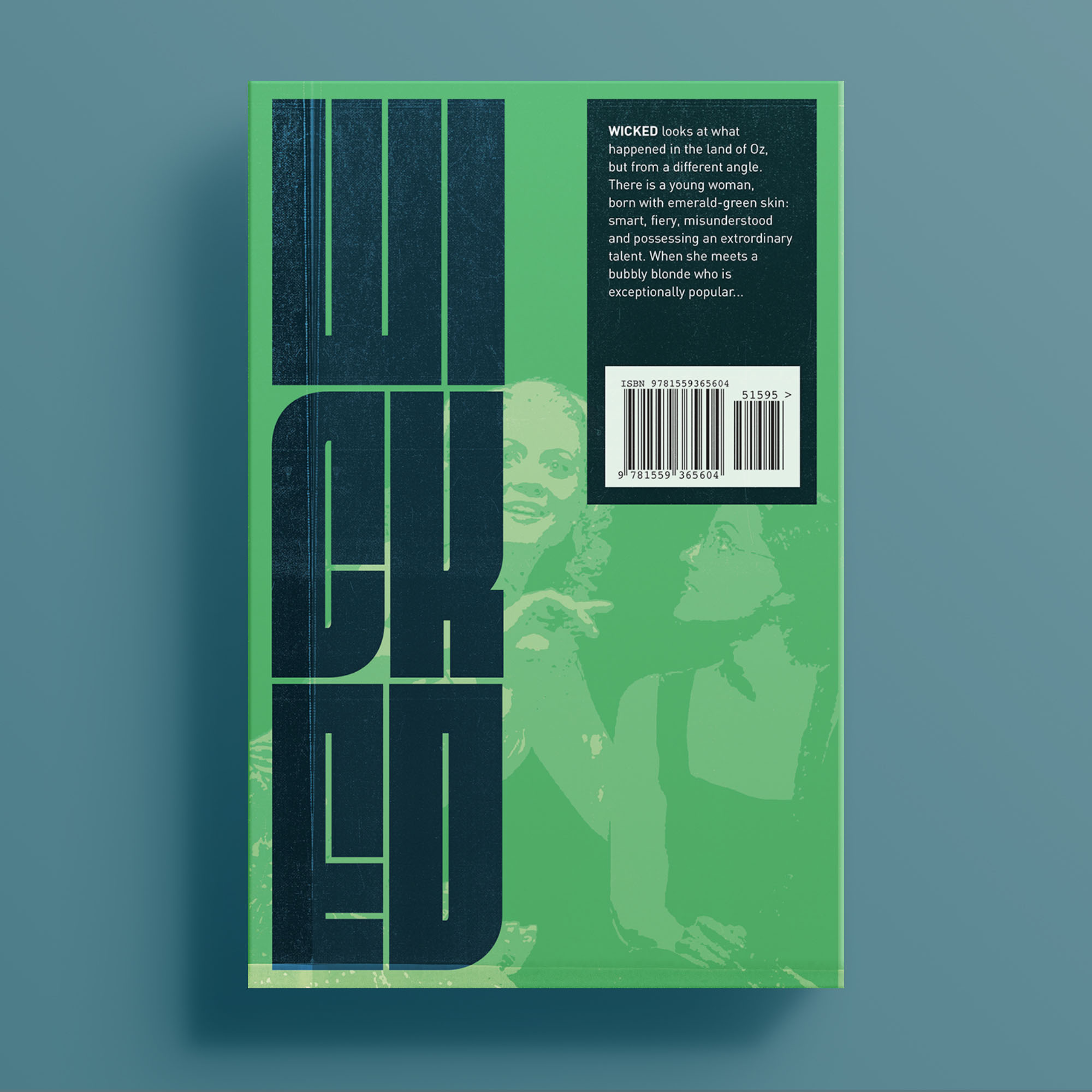 Wicked, back cover