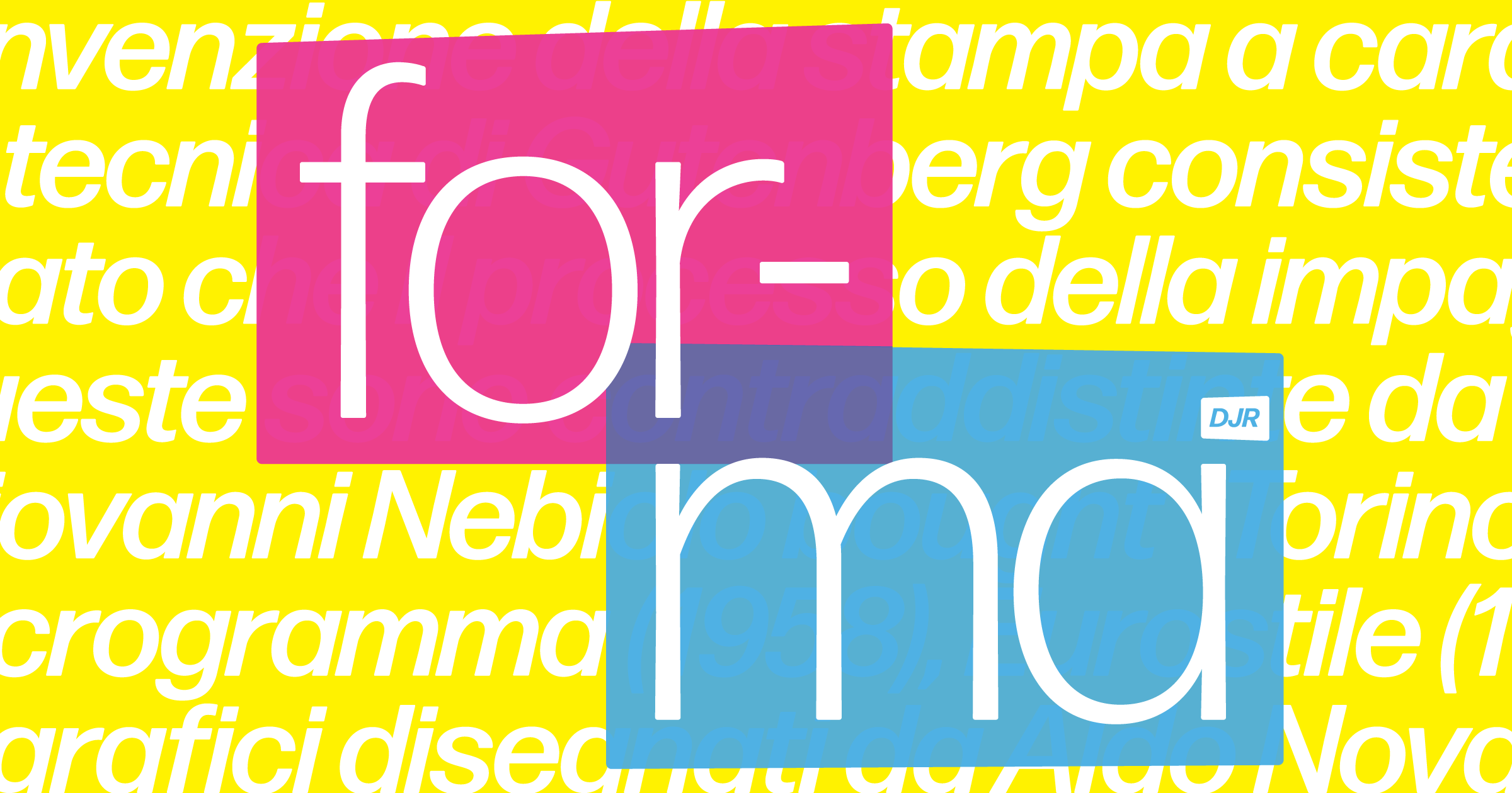 mostra nuova font download free